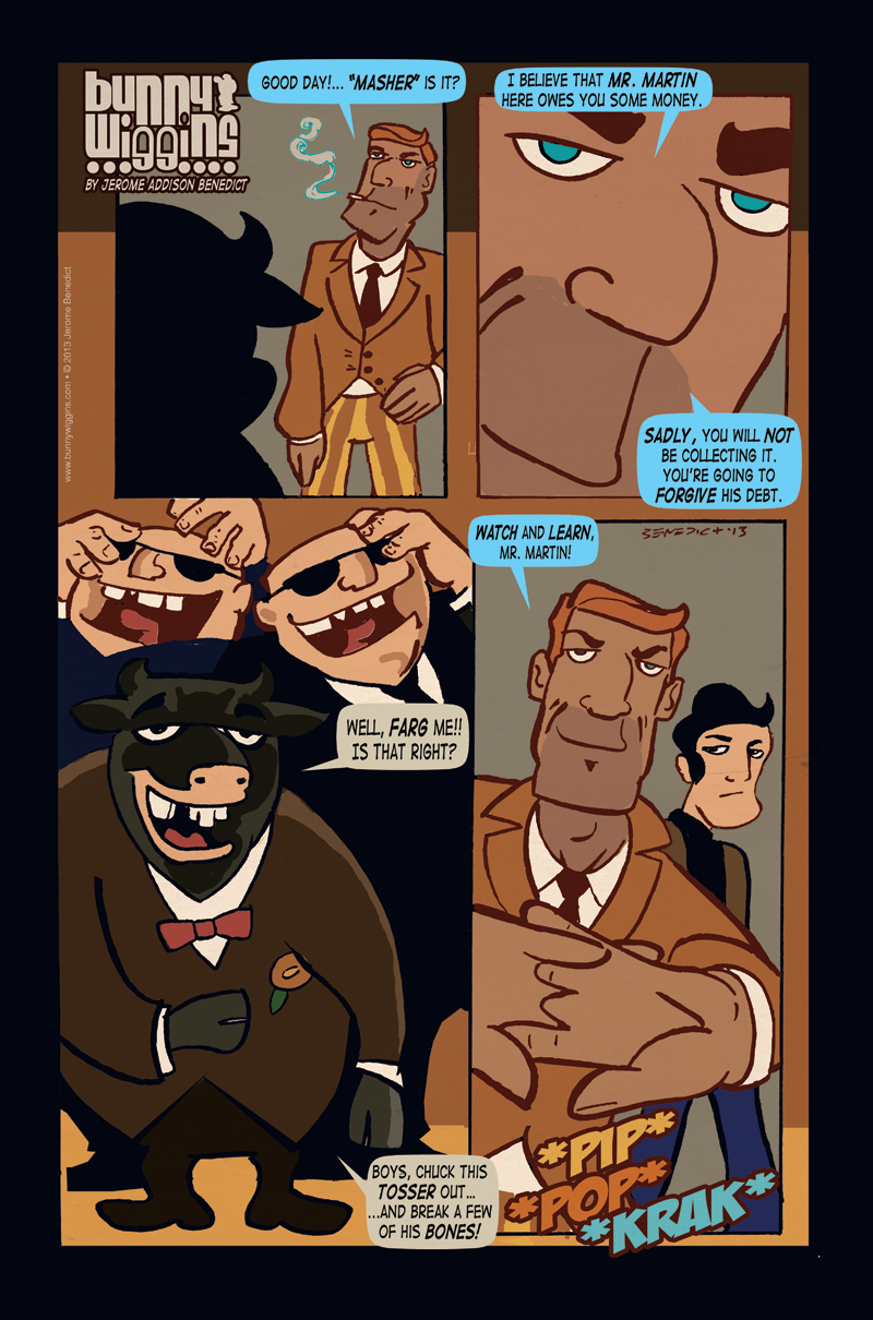 On Her Majesty's Customer Service – Page 8