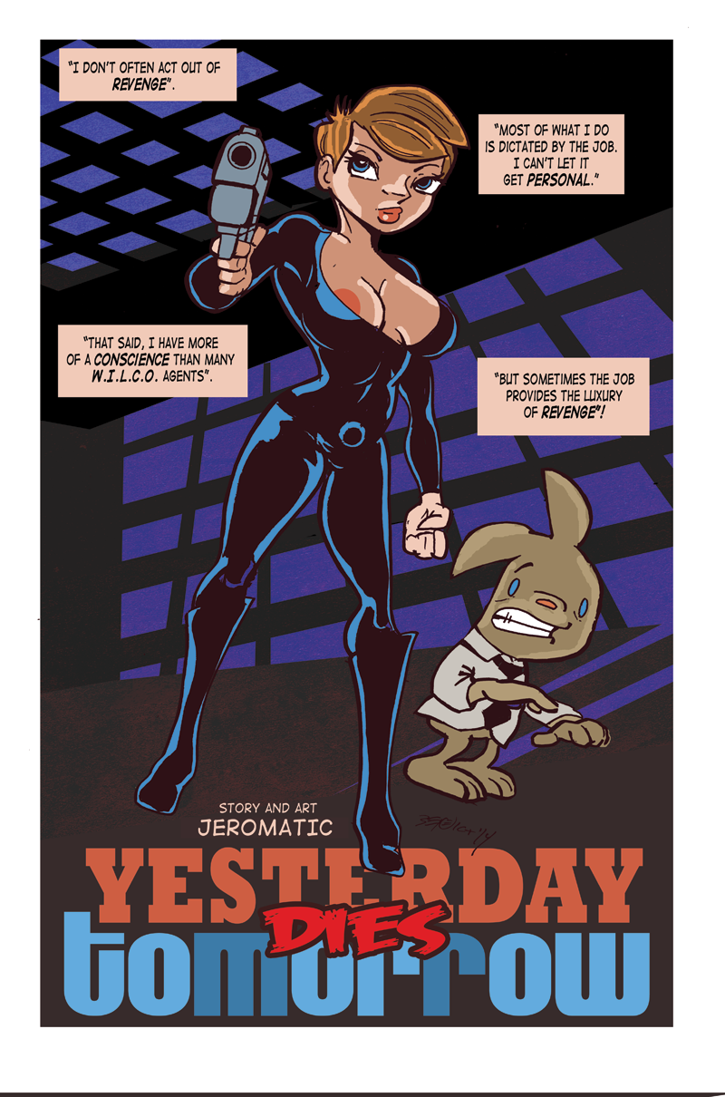 Yesterday Dies Tomorrow! Page 1