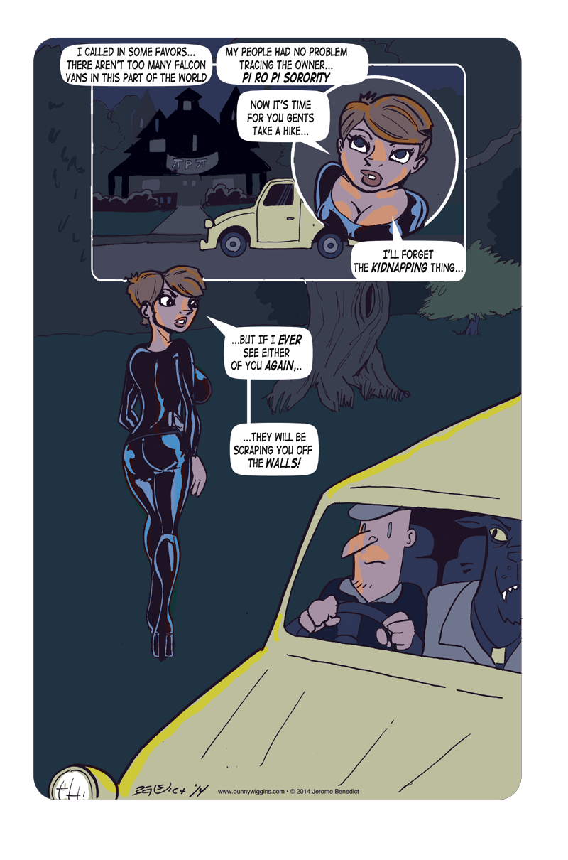 Yesterday Dies Tomorrow! Page 5