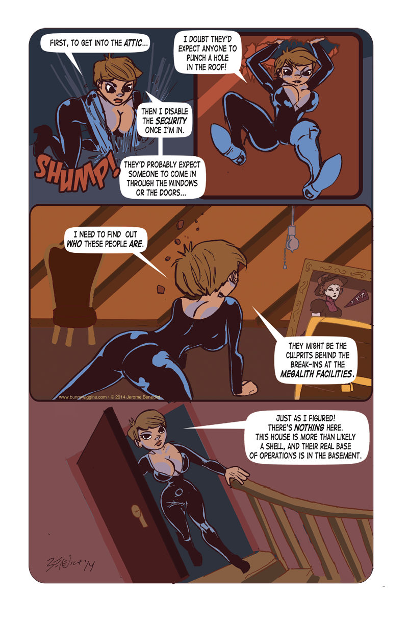 Yesterday Dies Tomorrow Page 8