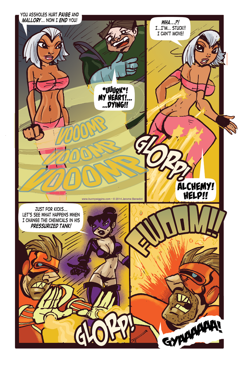 Yesterday Dies Tomorrow Page 23
