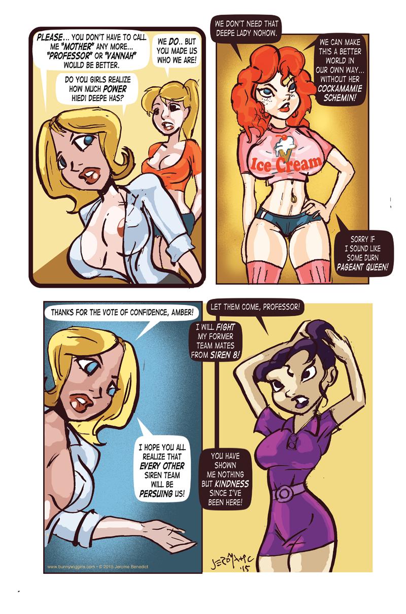 Enter The Vixenauts Page 4