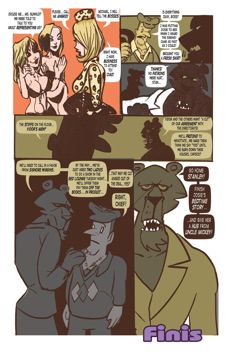 Prowler's Den – Conclusion