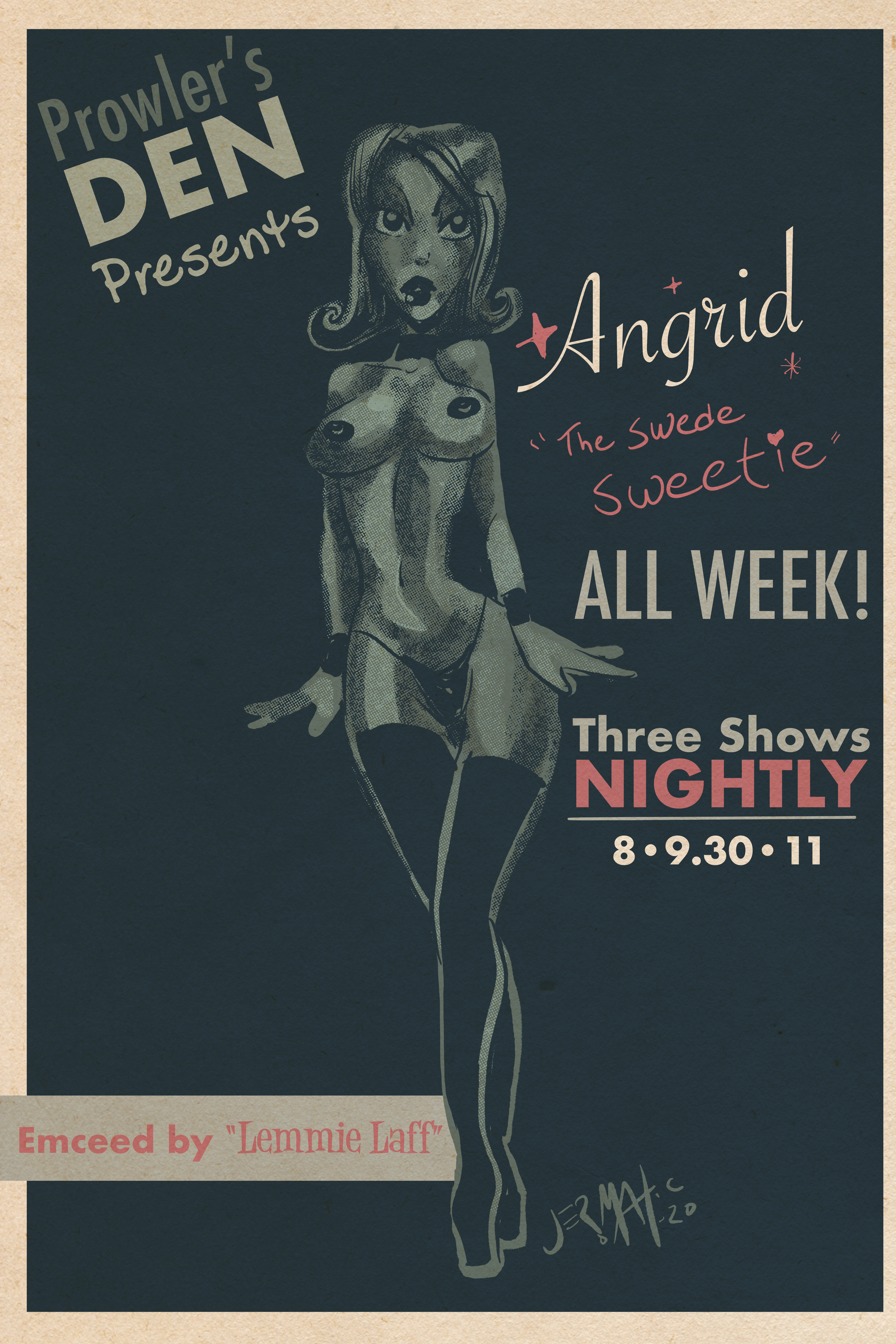 "Angrid ""Show Poster"""