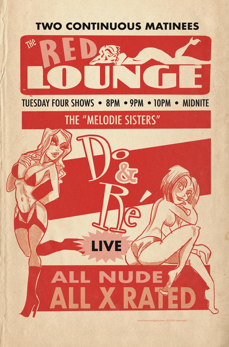Prowler's Den extra – Burlesque Poster!